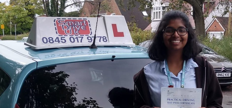 First Time Pass!! Congratulations to Rosemary from Bournemouth